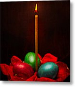 Easter Hope For Peace And Life Metal Print
