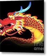 Eastern Dragon Metal Print