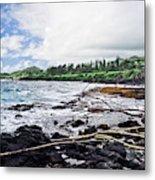 Eastern Shore Of Maui Metal Print
