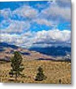 Eastern Sierras 28 Pano Metal Print