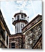 Eastern State Penitentiary Guard Tower Metal Print