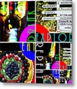 Eat Drink Explore Repeat 20140713 Horizontal Metal Print