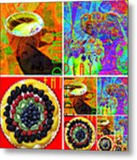 Eat Drink Play Repeat 20140705 Metal Print
