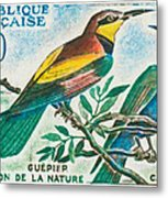 Eater Conservation Camargue Metal Print