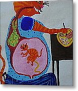 Eating For Two Metal Print