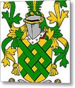 Eaton Coat Of Arms Irish Metal Print