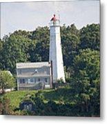 Eatons Neck Lighthouse Metal Print
