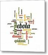 Ebola Metal Print