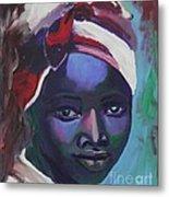 Ebony Women Metal Print