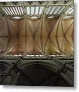 Ecclesiastical Ceiling No. 1 Metal Print by Joe Bonita