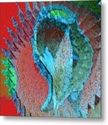 Echoing Seed Pod  Metal Print
