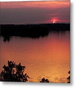Eclipse Of The Sunset Metal Print