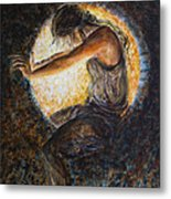 Eclipsed Metal Print
