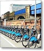 Ecological Transport Metal Print