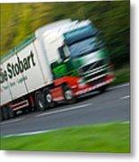 Eddie Stobart Lorry Metal Print