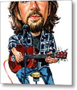 Eddie Vedder Metal Print by Art