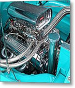 Edelbrock In A Chevy 3100 Hotrod Metal Print