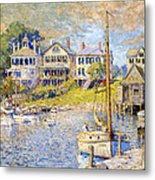 Edgartown  Martha's Vineyard Metal Print by Colin Campbell Cooper
