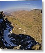 Edge Of The World Metal Print by Aaron Bedell