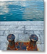 Edge Of Water Metal Print