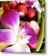 Edible Flowers Metal Print