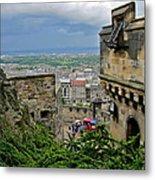 Edinburgh Castle Metal Print