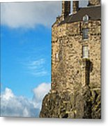 Edinburgh Castle Detail Metal Print