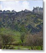 Edinburgh Castle - Scotland  Metal Print