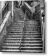 Edinburgh Steps Metal Print