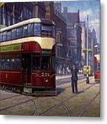Edinburgh Tram 1953. Metal Print