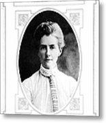 Edith Cavell (1865-1915) Metal Print