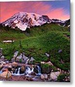 Edith Creek Sunrise Metal Print