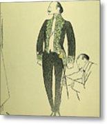 Edmond Rostand (1868-1918) Metal Print
