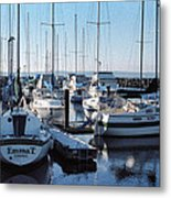 Edmonds Yacht Club Metal Print