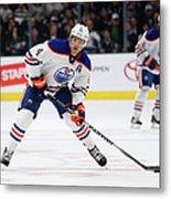 Edmonton Oilers V Los Angeles Kings Metal Print