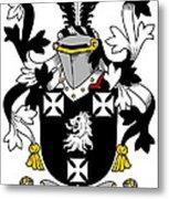Edney Coat Of Arms Irish Metal Print