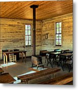 Education Of The Past Metal Print