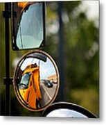 Education Reflection Metal Print