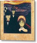 Edvard Munch 2 Metal Print
