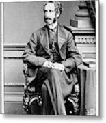 Edward Bulwer Lytton (1803-1873) Metal Print