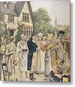 Edward Jenner Carries Out His First Metal Print