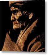 Edward S. Curtis Photograph Of Geronimo Carlisle Pennsylvania 1905-2013 Metal Print