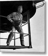 Edward Steichen, Joined The U.s. Navy Metal Print