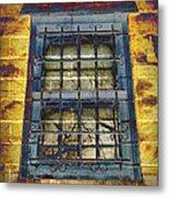 Eerie Window Metal Print