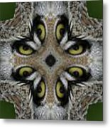 Eery Eyes - 1 Metal Print