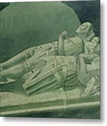 Effigies, Winchelsea Church Metal Print