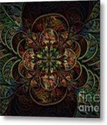 Efflorescence Metal Print