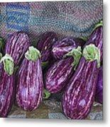 Eggplants Metal Print