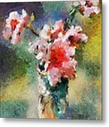 Eglantine From My Garden Metal Print