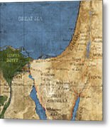 Egypt And The Holy Land Metal Print